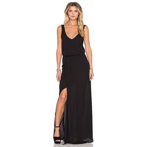 Show Me Your Mumu Black Kendall Maxi Dress